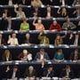 Mitglieder des Europaparlaments während einer Sitzung in Strassburg. (Archivbild)