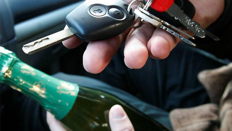 Entweder Alkohol oder Autoschlüssel - beides zusammen geht nicht.