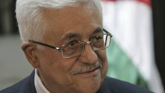 Beim Spitzentreffen in Kairo zugegen: Palästinenserpräsident Mahmud Abbas (Archiv)