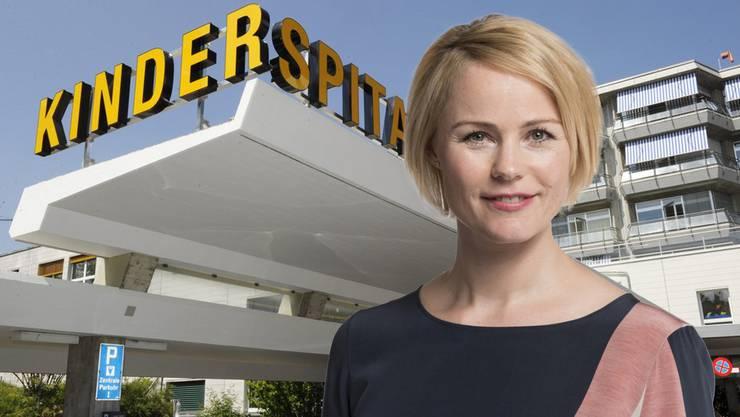 Natalie Rickli – Zürichs neue Gesundheitsdirektorin.