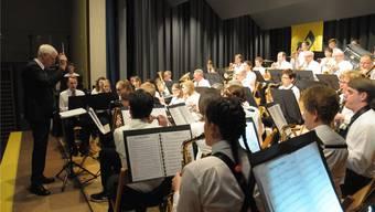 Die mit Nachwuchs verstärkte Musikgesellschaft wird erstmals von Felix Müller geleitet.
