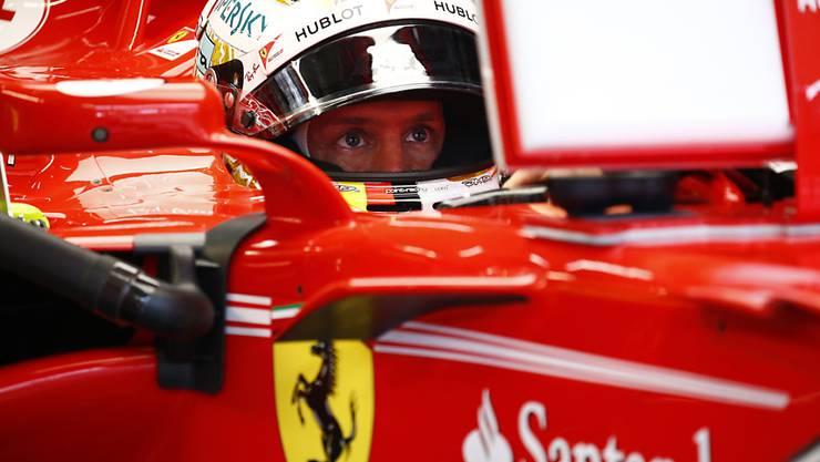 Sebastian Vettel erlitt im Qualifying in Malaysia einen grossen Rückschlag