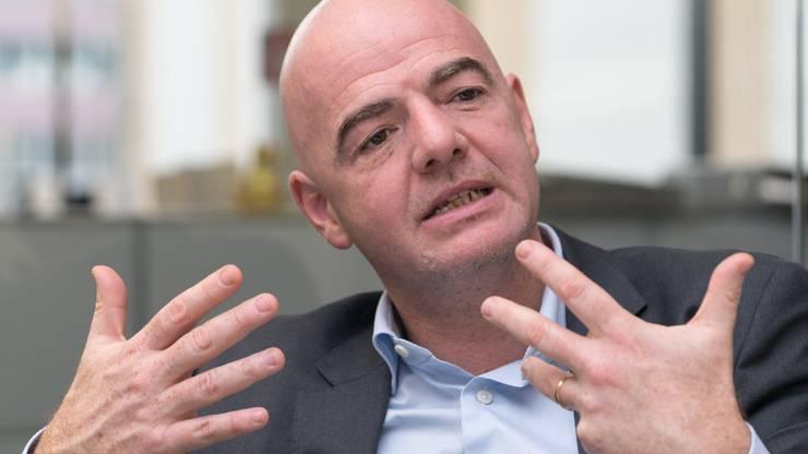 Schweizer Anwalt Philippe Renz kritisiert Fifa-Chef Gianni Infantino für seine Untätigkeit. (BILD: Mario Heller)