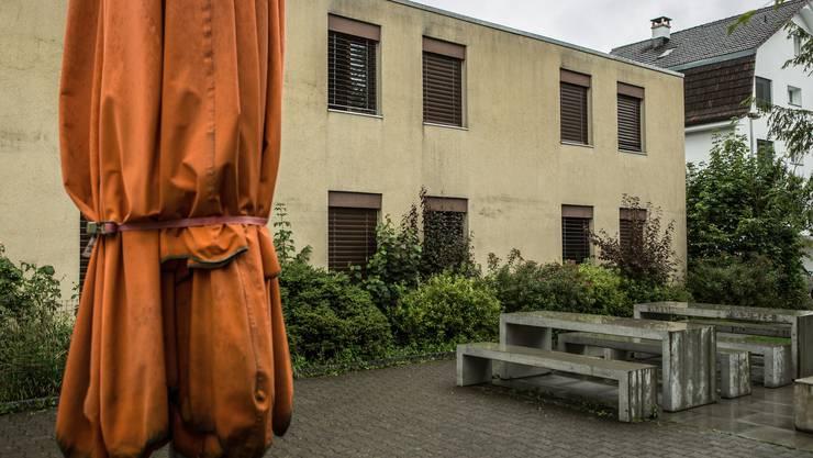 Das Erstaufnahmezentrum Casa Torfeld in Buchs. (Archivbild)