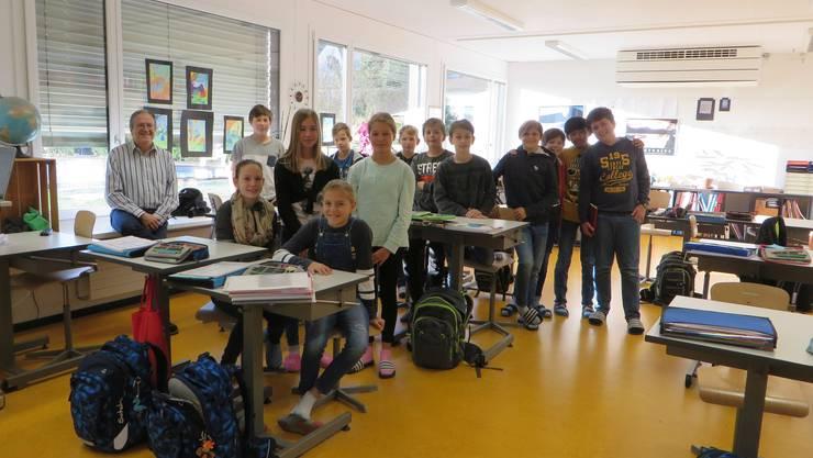 Politische Informationen in der 6. Klasse Boniswil.