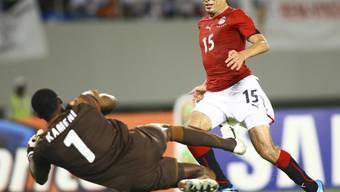 Topskorer Gedo sicherte den Ägyptern den dritten Afrika-Cup-Sieg hintereinander