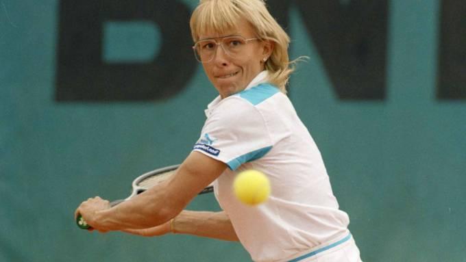 Martina Navratilova hat im Tennis einiges bewegt
