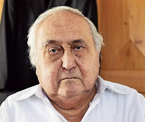 Gábor Hirsch Auschwitz-Überlebender
