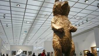 """Der """"Blind Bear"""" von Valentin Carron (Archiv)"""