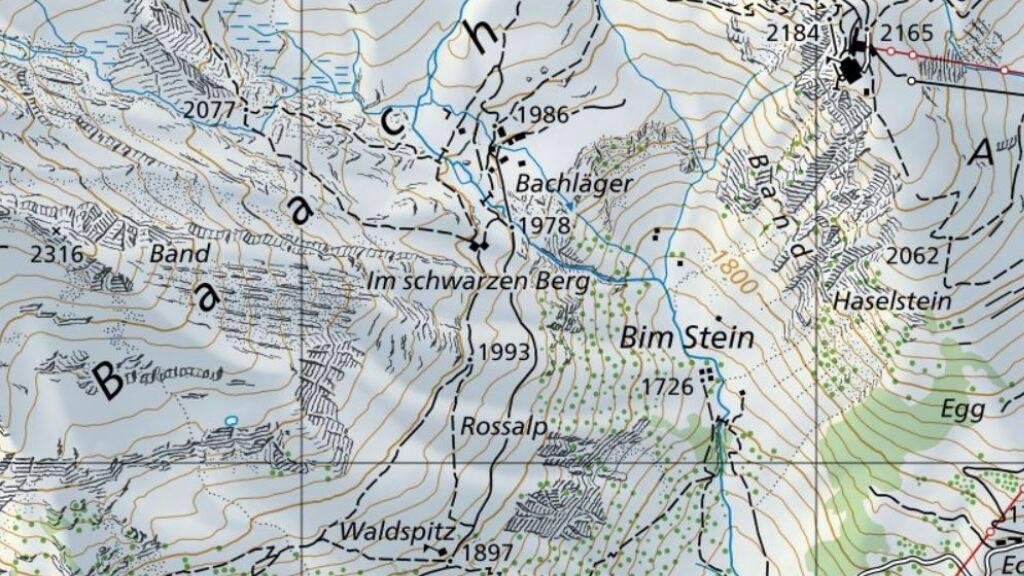 Auf dem Abstieg von der First Richtung «Waldspitz» ist am Donnerstag eine Frau tödlich verunglückt.