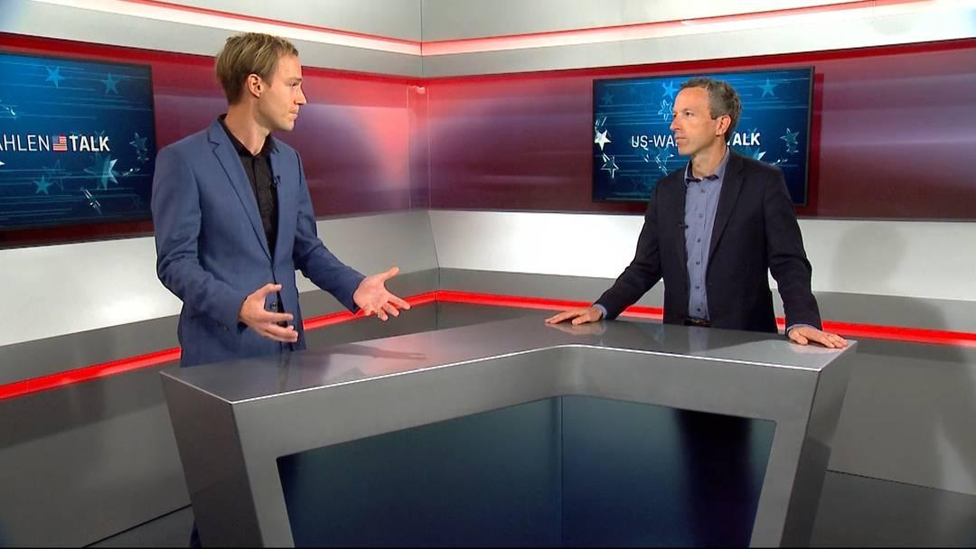 Der Talk am Tag der Wahlen in den USA - mit Auslandchef Samuel Schumacher und Chefredaktor Patrik Müller