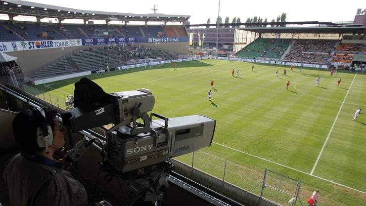 Der Hardturm im Jahr 2006: Die Chancen für ein Stadion in Schlieren stehen schlecht. Valeriano Di Domenico