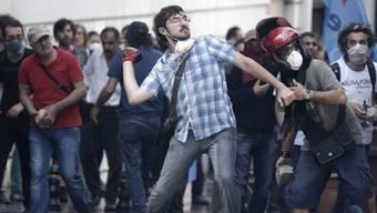 Bürgerprotest am Taksim-Platz in Istanbul