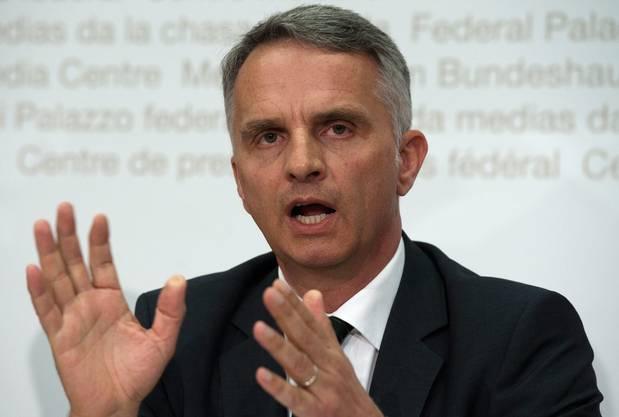 Didier Burkhalter war zur Zeit der Entführung Aussenminister.