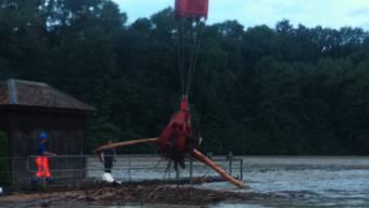 Der Stadt Bern steht ein Hochwasser bevor