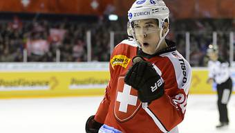 Reto Suri schoss die Schweiz in der Verlängerung zum Sieg