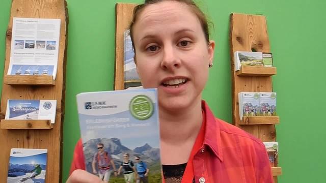 Laura Vogt von Simmental Tourismus erklärt, was die HESO-Gastregion 2017 alles zu bieten hat