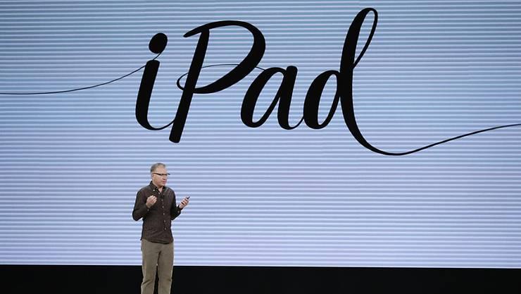 Apple kündigt Produktpräsentation an. (Archiv)