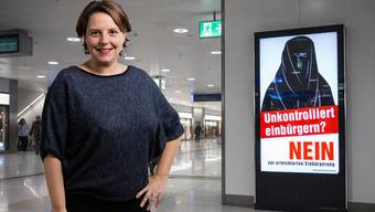 SP-Nationalrätin Ada Marra findet SVP-Plakat «absurd».