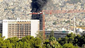 Damaskus wurde am Dienstag von mehreren Explosionen erschüttert (Archiv)