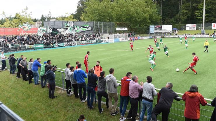 FC Baden gegen den FC St. Gallen.
