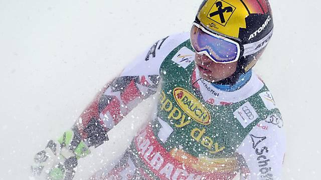 Marcel Hirscher dominierte den 1. Riesenslalom-Lauf