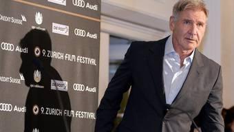 Harrison Ford am Film Festival in Zürich