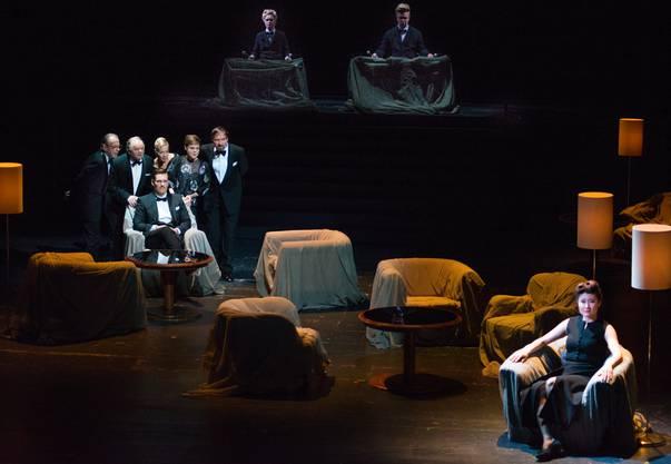 Die Aufführung im Schauspielhaus erinnerte am meisten an traditionelles Theater.