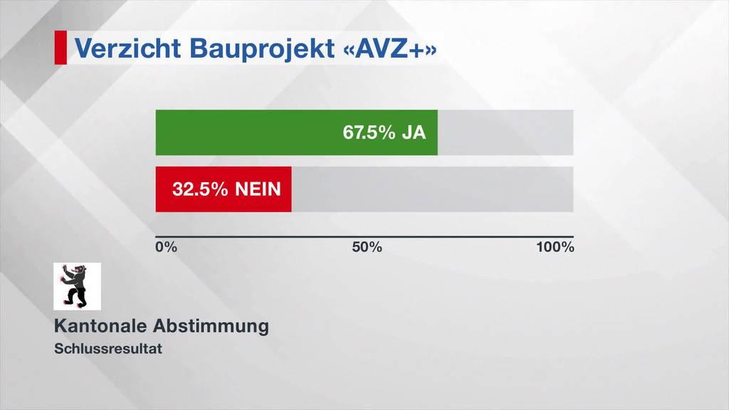 Entschieden: Bauprojekt AVZ+ wird beendet
