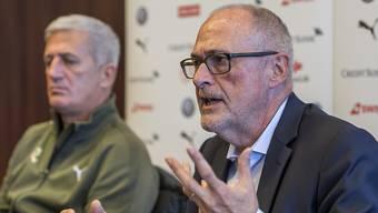 SFV-Präsident Peter Gilliéron hält grosse Stücke auf Vladimir Petkovic und die Nationalmannschaft