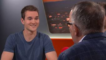 Der 21-jährige Luzerner Simon Weiss gewinnt «Ninja Warrior Switzerland». Im «TalkTäglich» erzählt er von seiner körperlichen Meisterleistung.