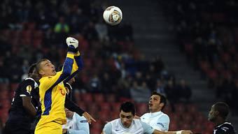 Goalie Andrea Guatelli sicherte dem FCZ einen Punkt