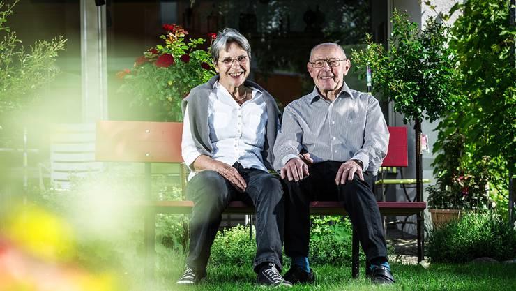 Verena und Alfred Sandmeier werden heute Abend zu Ehrenbürgern ernannt.