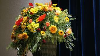 Die Floristen erhielten während des Lockdowns viele Blumenbestellungen.