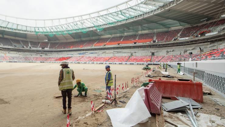 Bei der Verbesserung der Rechte von Gastarbeitern in den WM-Stadien von Katar kämpfte Brendan Schwab an vorderster Front.