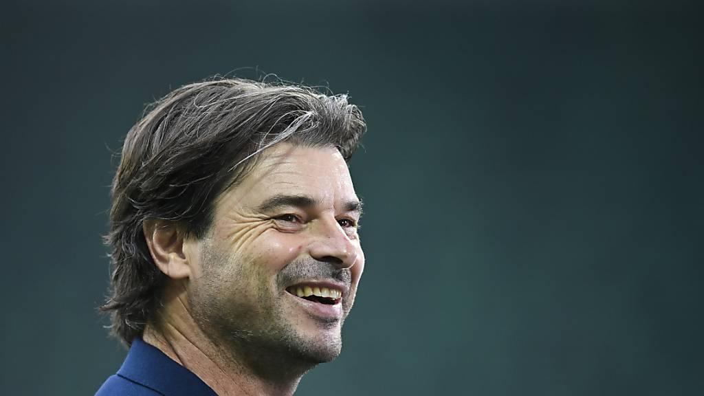 Ciriaco Sforza tritt mit dem FC Basel zum Nachtragsspiel im Zürcher Letzigrund an