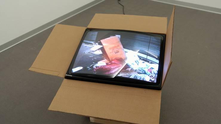 Manch ein technisch nicht so versierter Fernsehzuschauer wünschte sich, er könnte mit seinem TV einfach so auf Reisen gehen, zum Fachhändler. Die Kunst im Graphischen Kabinett des Kunstmuseums Solothurn hat es vorgemacht.