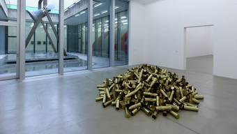 Der belgische Künstler Chris Martin im Kunsthaus Aargau