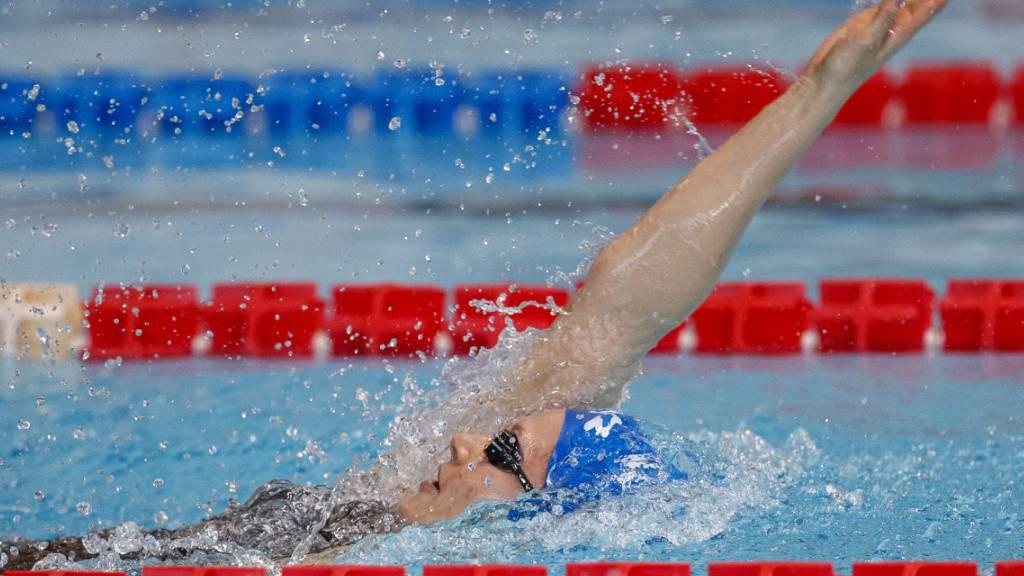 Kost mit Schweizer Rekord über 100 m Rücken