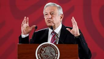 Der mexikanische Präsident Andrés Manuel López Obrador sagte am Donnerstag, dass Spionagegeräte in seinem Amtssitz gefunden worden seien.