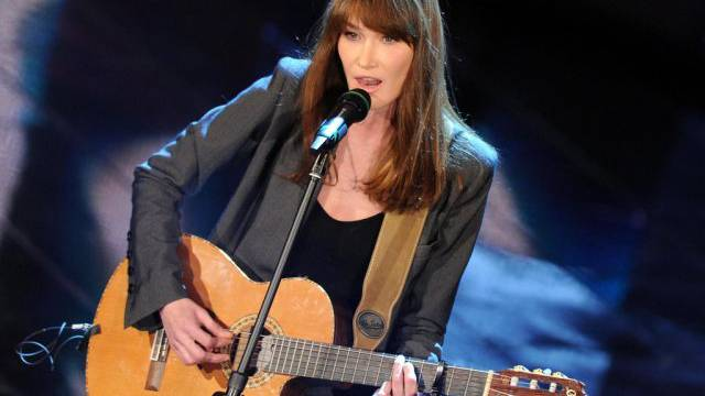Konzerte in Kanda entfallen: Sängerin Carla Bruni (Archiv)