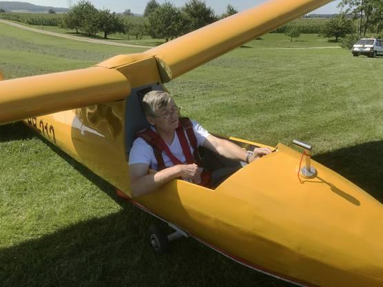 Patrick Martin hat bereits einen Probeflug gemacht