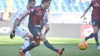 Suso erzielt das Führungstor für Genoa gegen Palermo