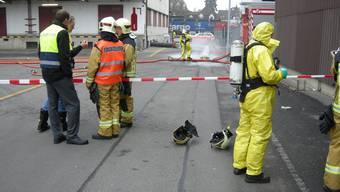 Ammoniak ausgelaufen: Unfall in Langenthaler Kühlhaus