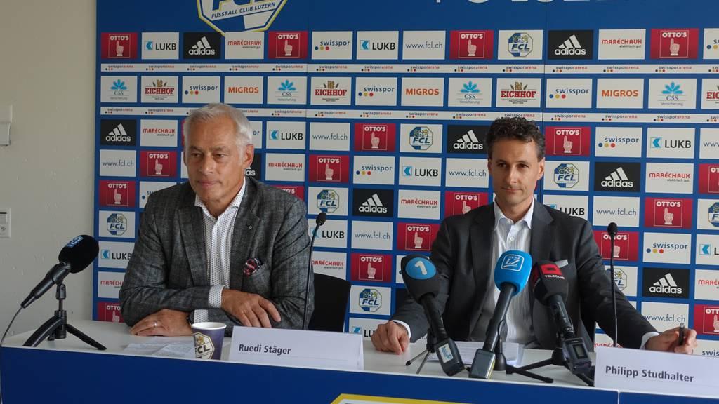 Neuer FCL-Präsident Studhalter in der Kritik