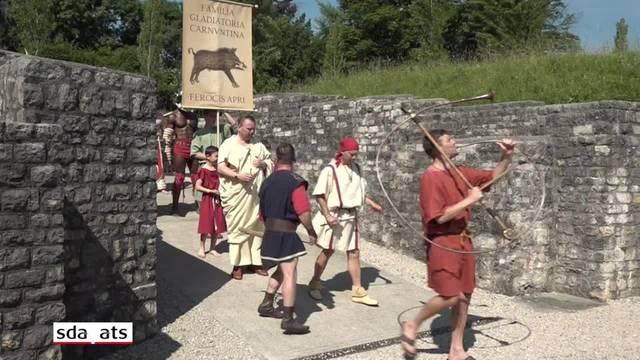 Die Gladiatoren ziehen in Windisch ein