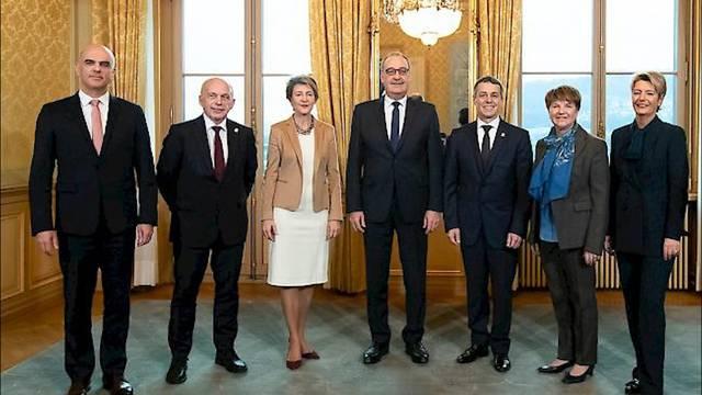 Der neu zusammengesetzte Bundesrat
