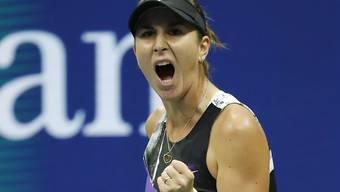 Was für eine Vorstellung! Belinda Bencic gewann im Achtelfinal des US Open gegen die Titelverteidigerin und Weltnummer 1 Naomi Osaka