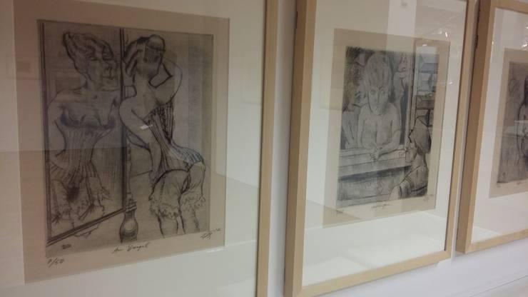 «Am Spiegel» von Otto Dix: Das Kunsthaus nahm das Geschenk nur widerwillig an.
