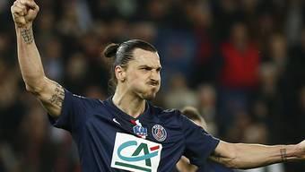 Mit drei Teffern PSG's Matchwinner: Zlatan Ibrahimovic